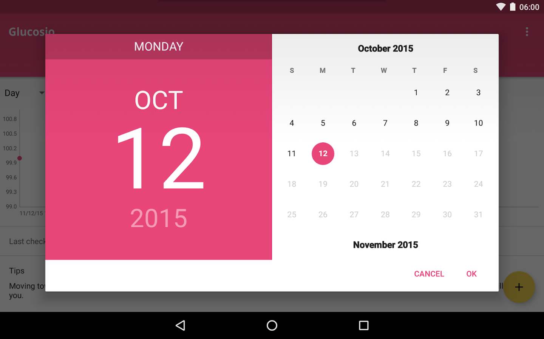 Glucosio android app materialup - Funformobile com login ...