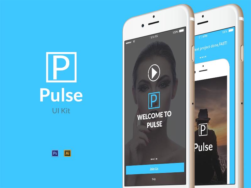 Pulse UI Kit Free Sample