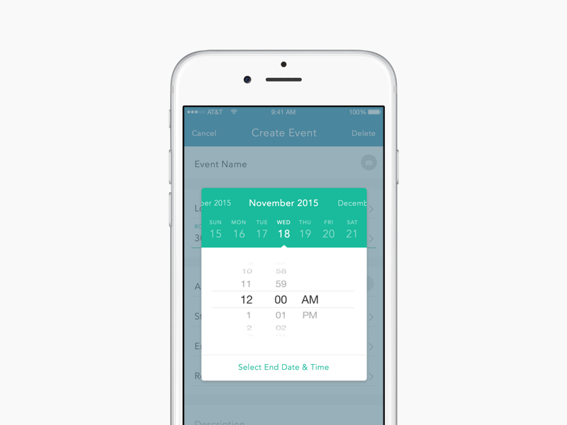 date & time app