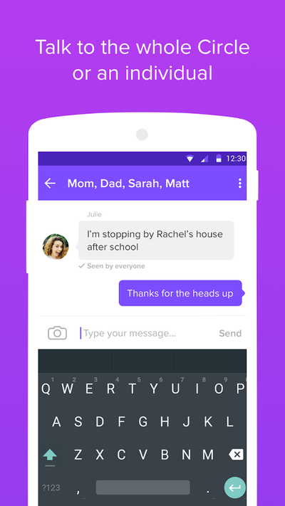 Family locator android app materialup - Funformobile com login ...