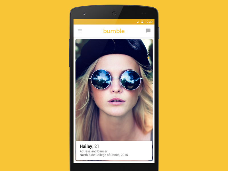 Bumble dating app android release