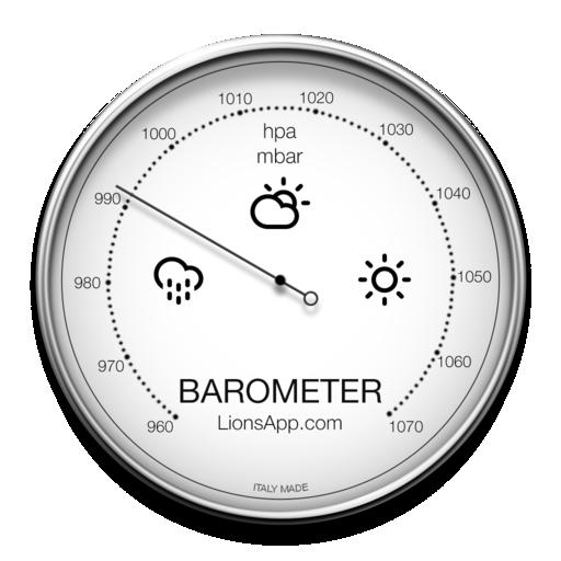 Barometer Mac Icon – iOSUp