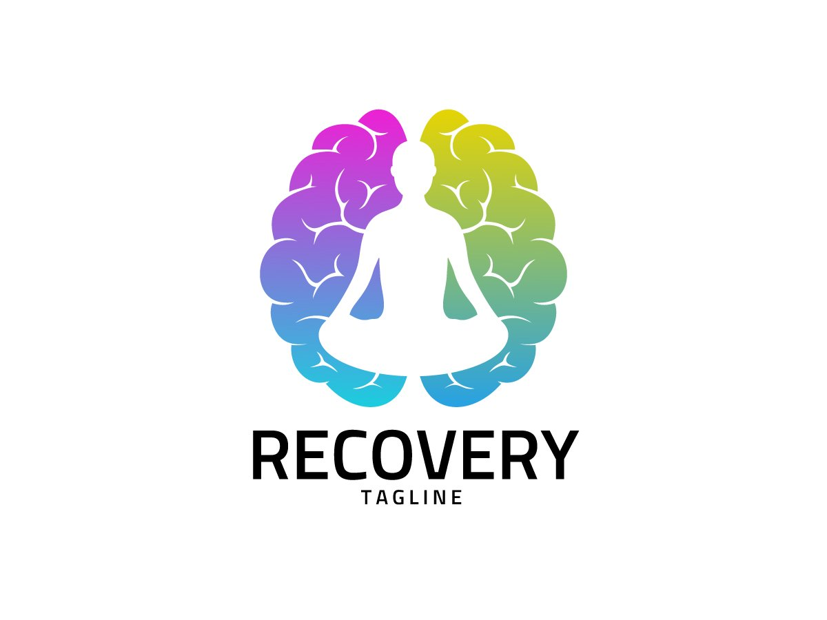 recovery meditation logo design uplabs search by muzli muzli search