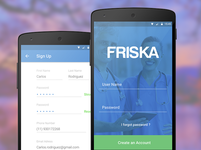 android - Login Screen Design - Stack Overflow