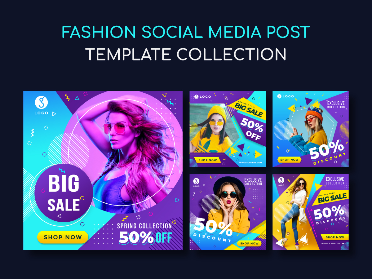 Social Media Post Design Instagram Fashion Sale Template Uplabs