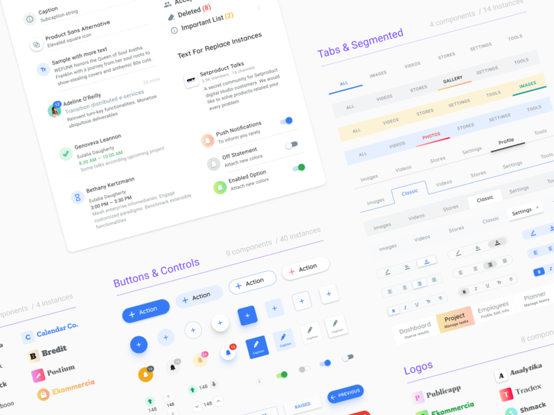 Design System Components Ui Uplabs