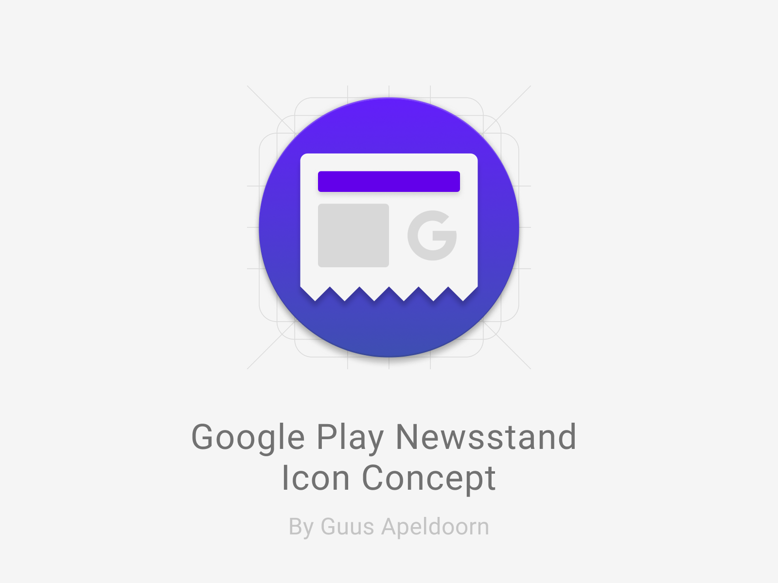 Google Play Newsstand Icon - UpLabs
