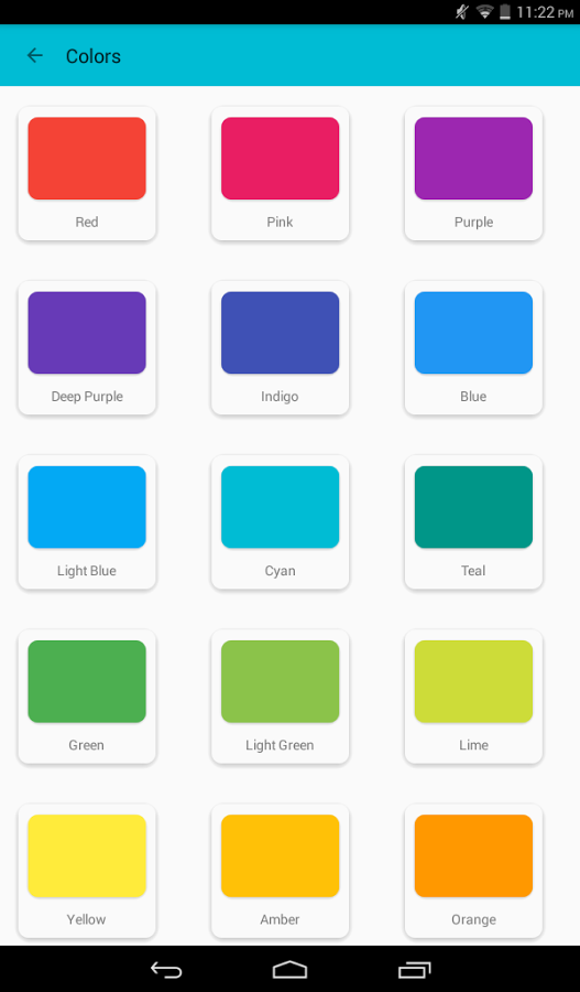 Material Design Tutorial Android App - UpLabs
