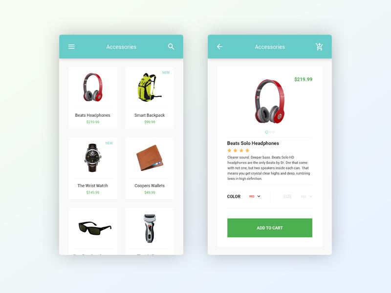 Themeunix : E-Commerce Mobile App - UpLabs