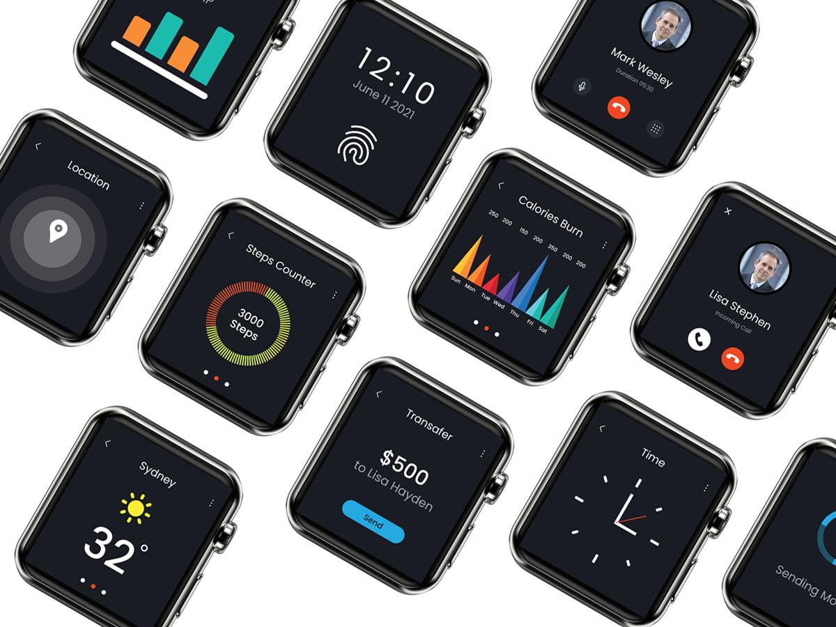 Clock Watch App Design
