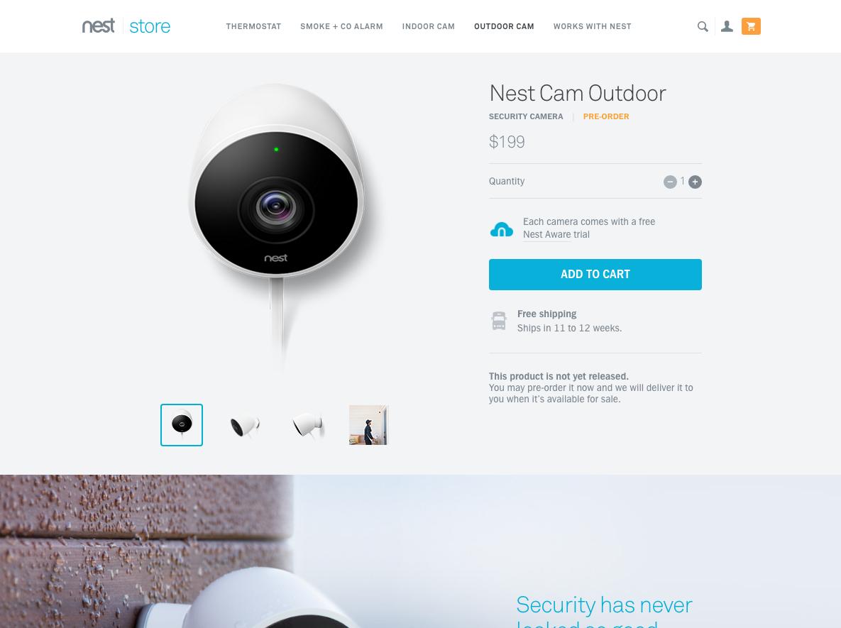 nest cam outdoor uplabs. Black Bedroom Furniture Sets. Home Design Ideas