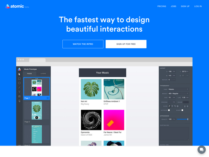 Atomic Interface Design Software For Professional Uplabs