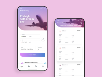 Android UI made with Adobe XD - UpLabs