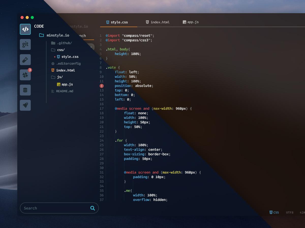 macOS Mojave Coding Editor - UpLabs
