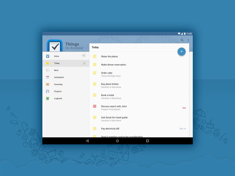 Things Android Material Design Uplabs