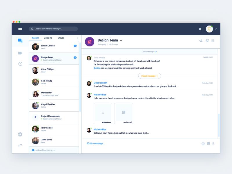 Messenger App - UpLabs