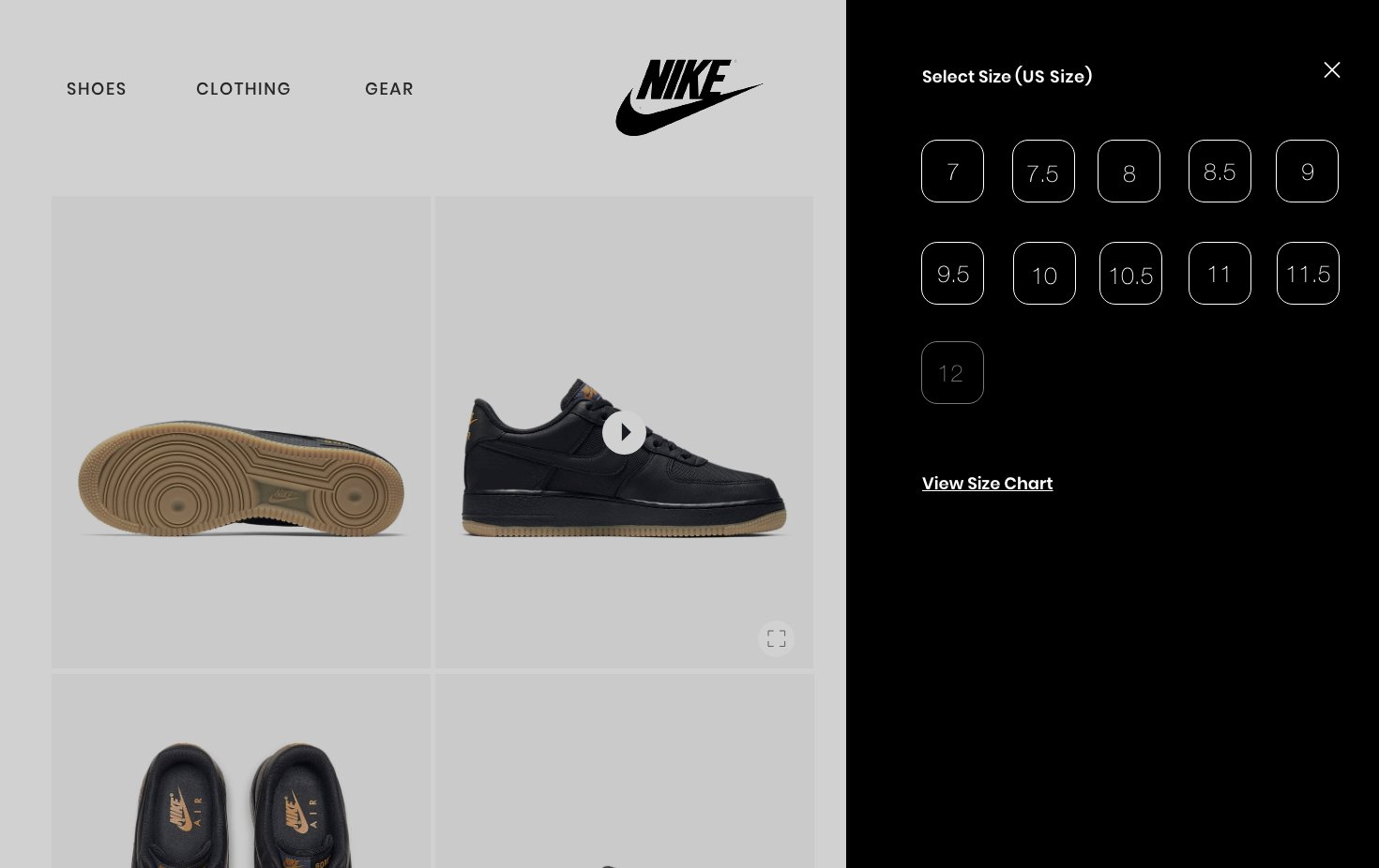 Bueno Kilómetros Registrarse  Nike Web design Challenge - UpLabs