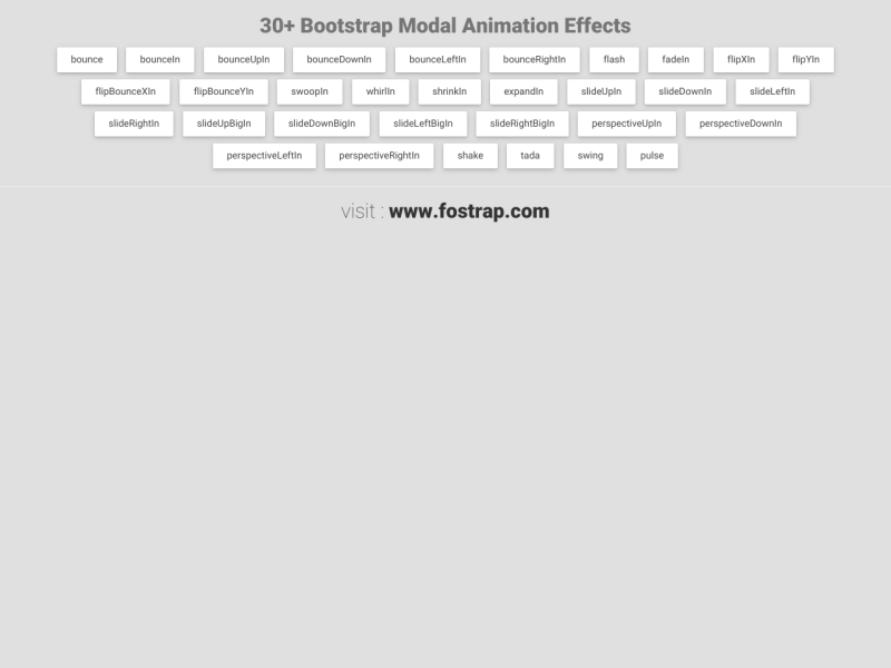 30+ Bootstrap Modal Animation Effects - UpLabs