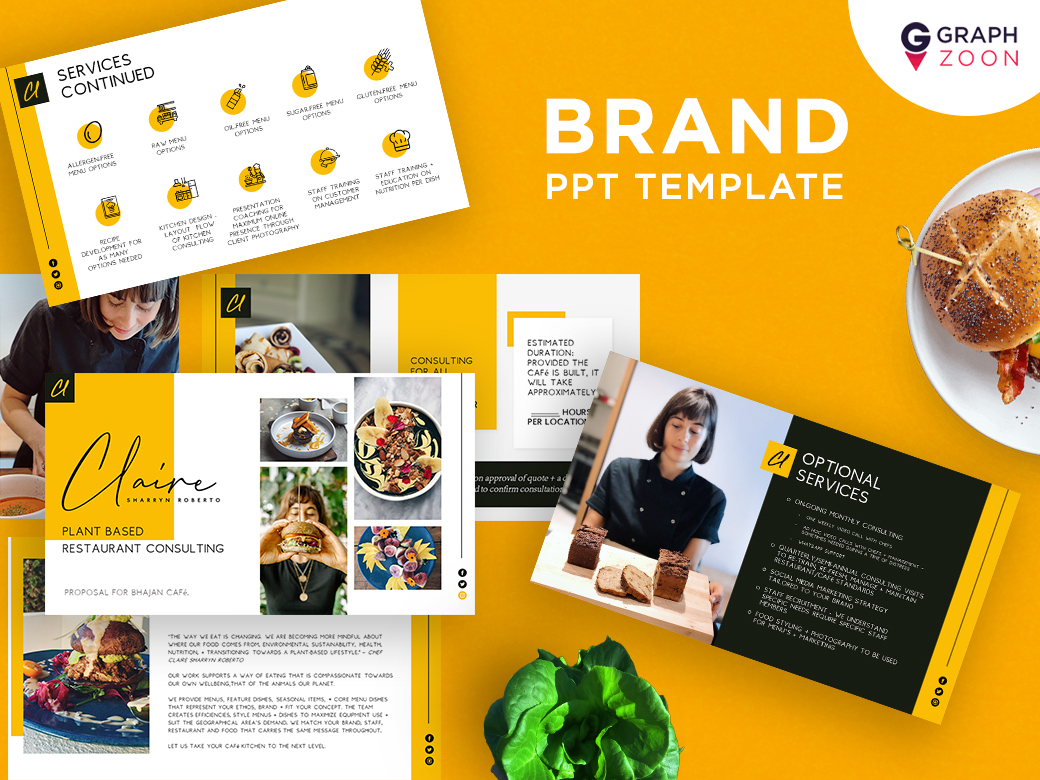 Restaurant Food Recipes Powerpoint Templates Uplabs