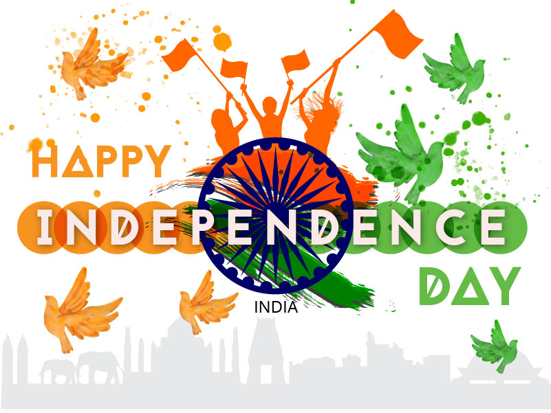 Happy Independence Day India - 15 Aug - UpLabs
