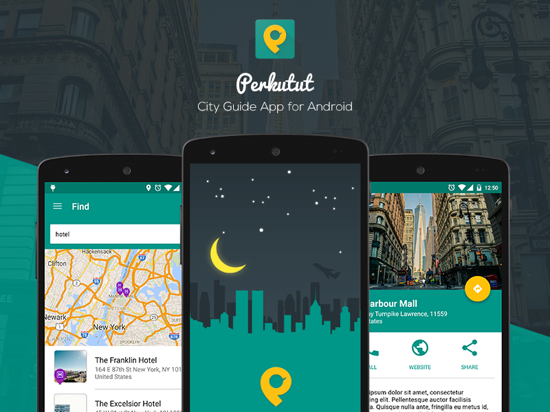 Perkutut city guide app for android uplabs for Application miroir android