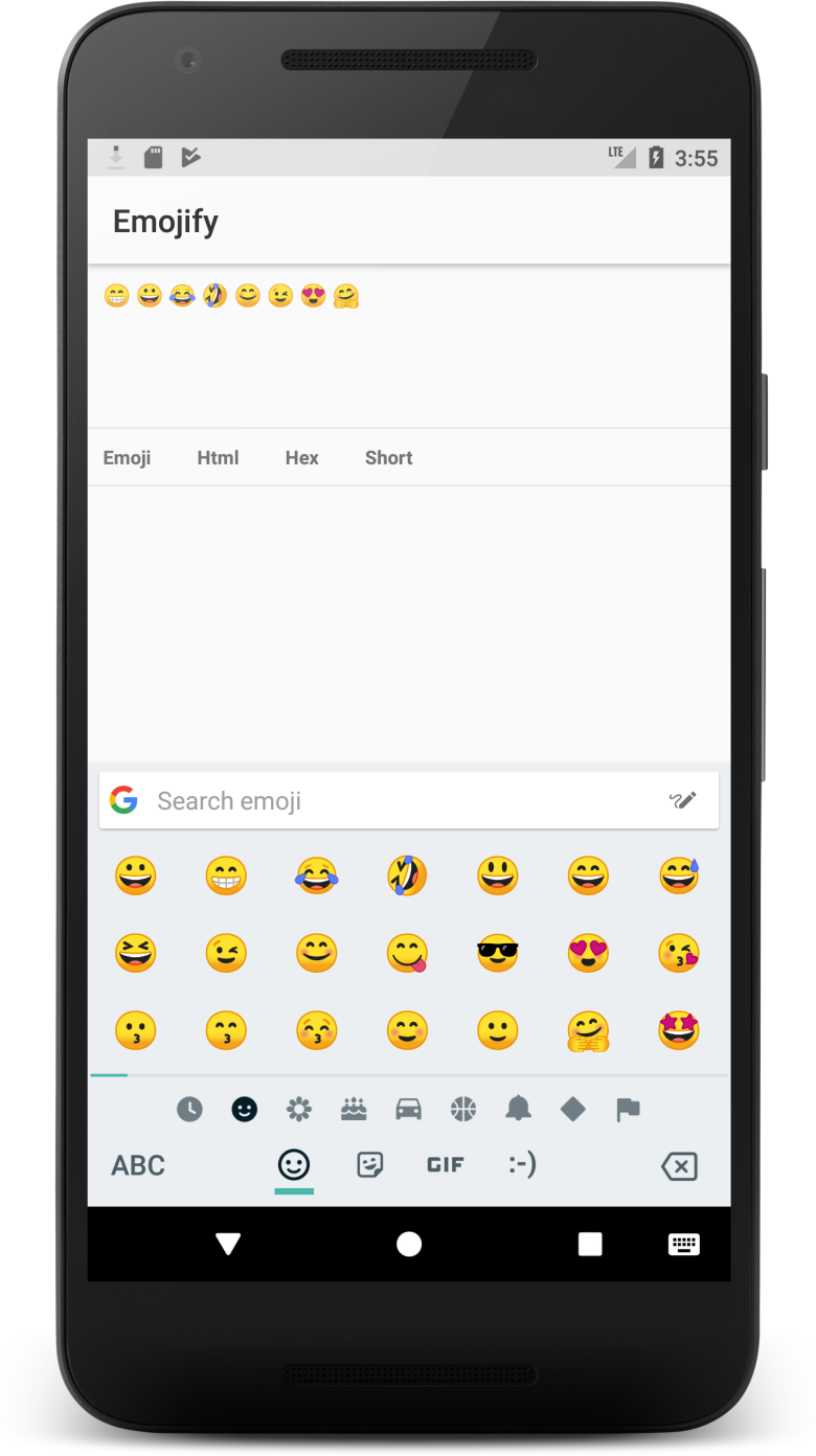 Android Emojify - UpLabs