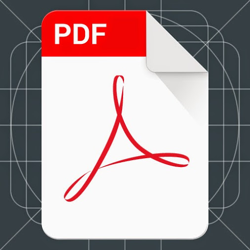 Material Design PDF icon - UpLabs