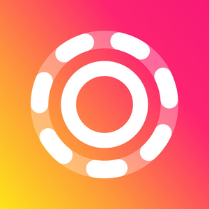Gifs Art by PicsArt iOS Icon - UpLabs