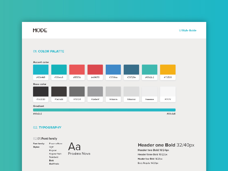 mode web style guide uplabs Apple UI Style Guide Sample Website Style Guide