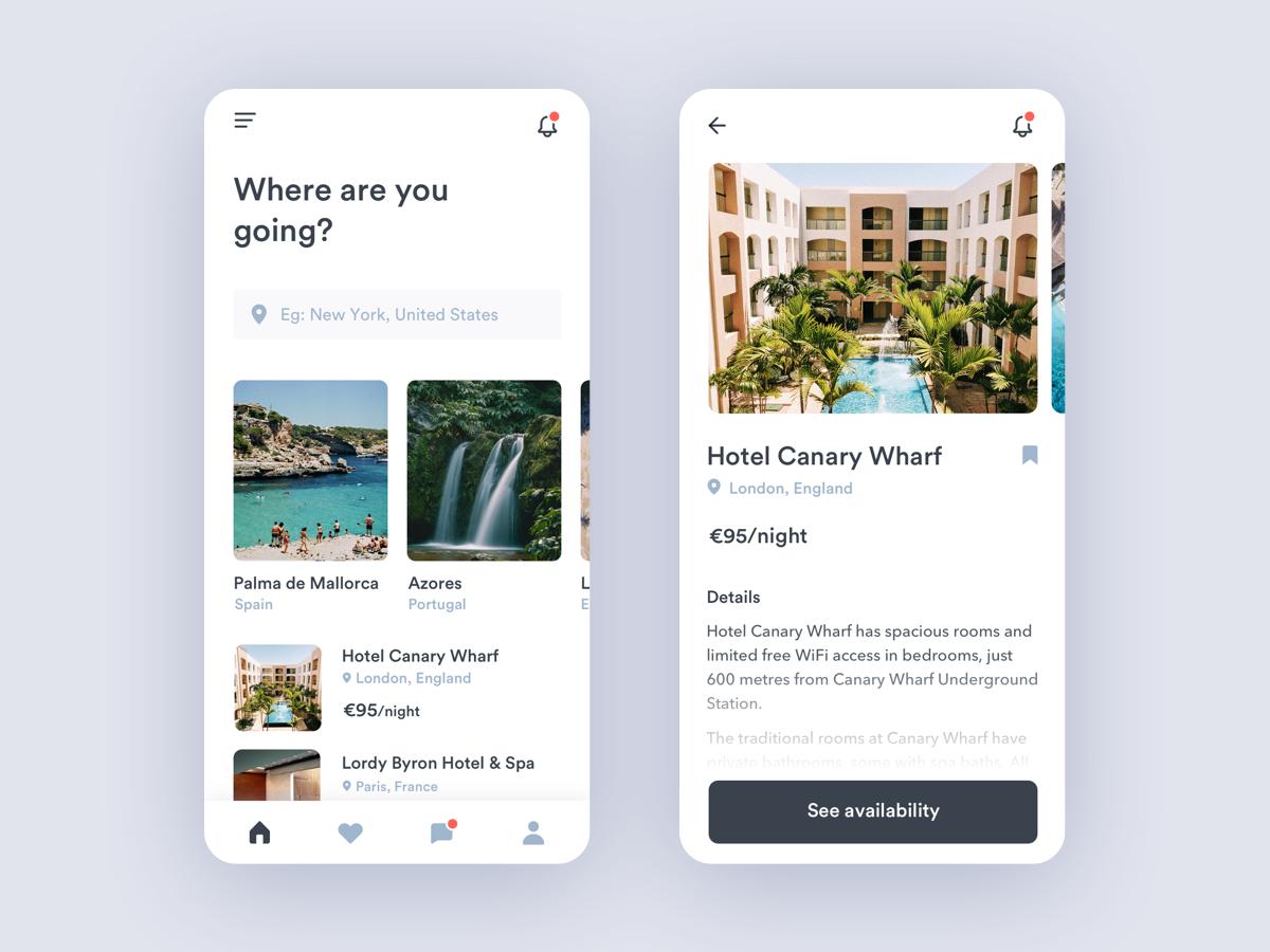 Travel App - UpLabs