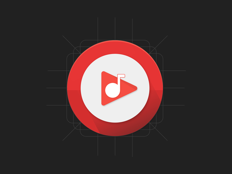 Youtube Music Android Icon Uplabs