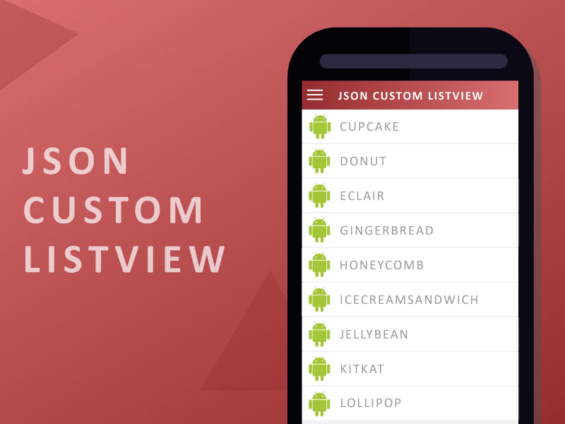Android JSON CUSTOM LISTVIEW Tutorial | Search by Muzli