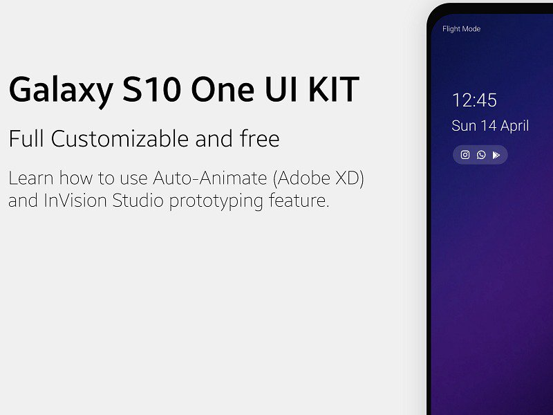 Samsung One UI Prototype - UpLabs