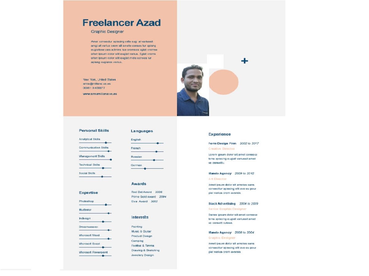 Free Resume Template Uplabs