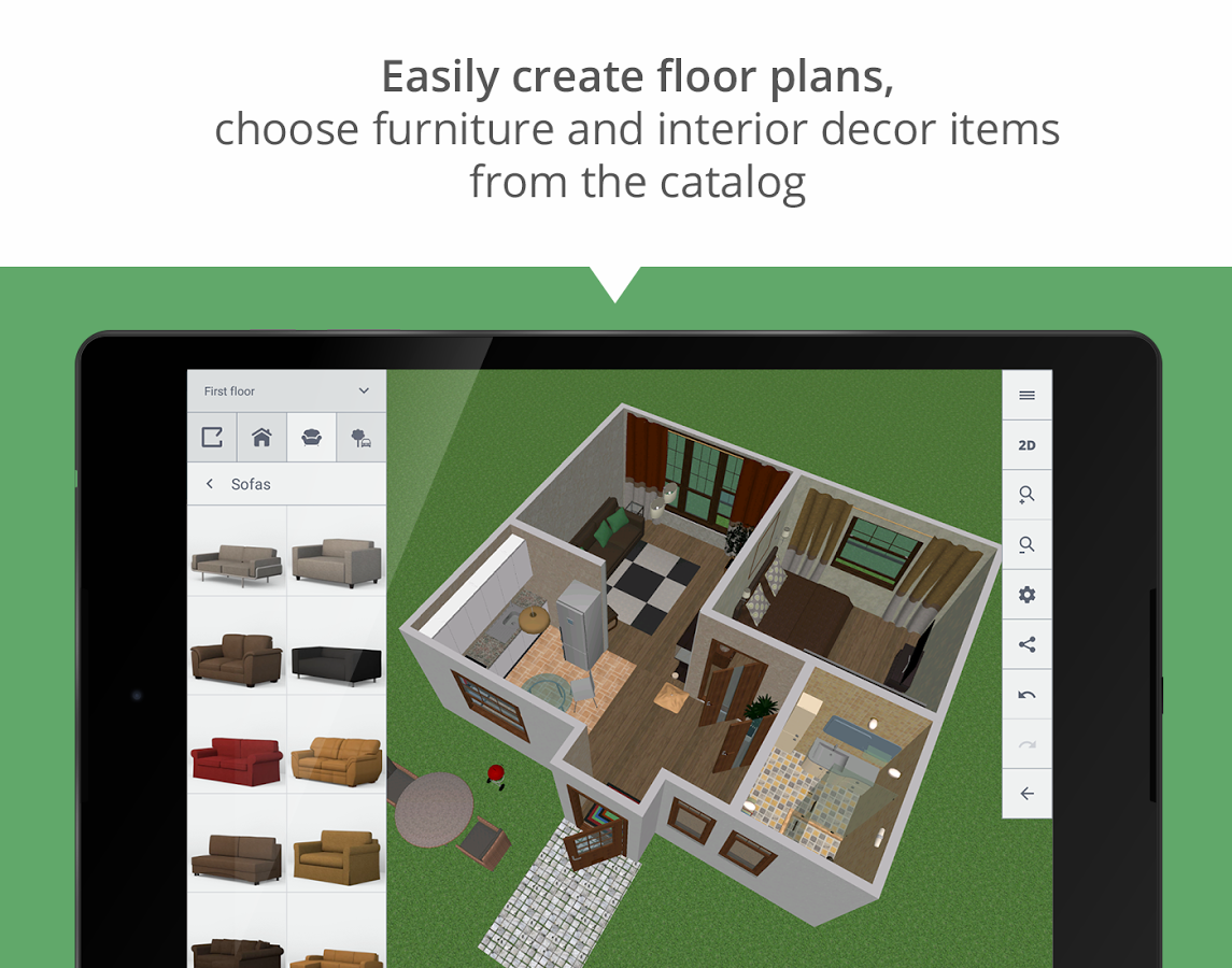Planner 5D - Home Design - MaterialUp