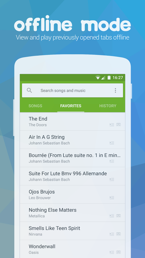 Songsterr Guitar Tabs & Chords Android App - UpLabs