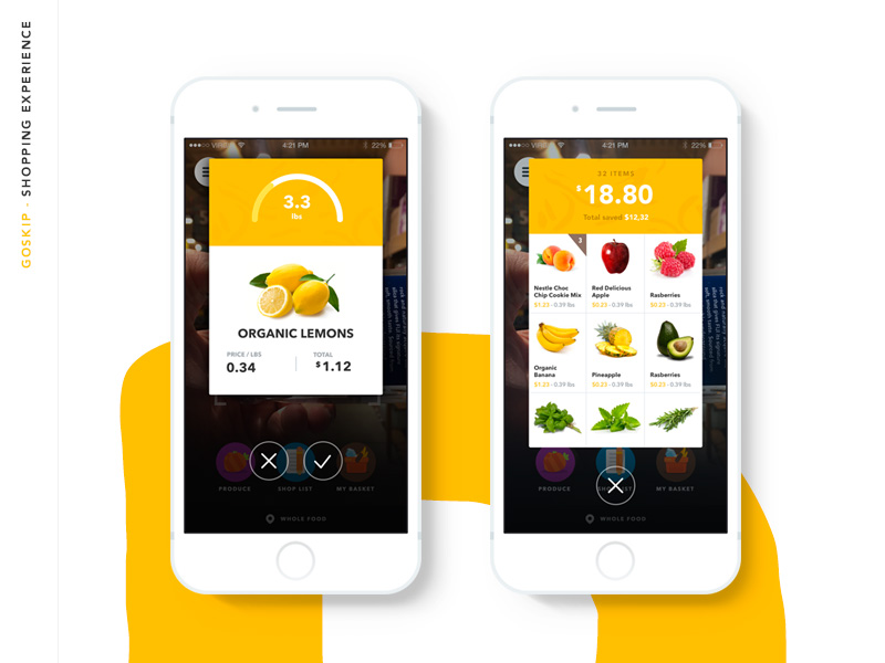 Goskip Ios App Design Uplabs