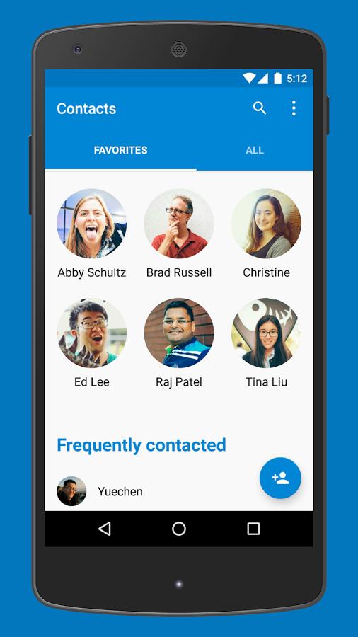 Скачать приложения контакты
