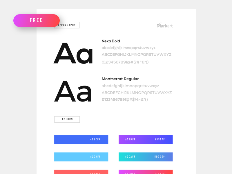 Styleguide Free Template - UpLabs