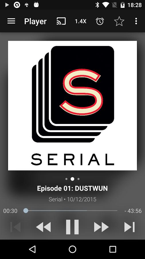 Podcast & Radio Addict Android App - UpLabs