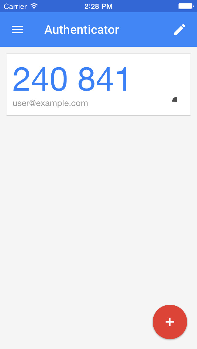 Google Authenticator Uplabs