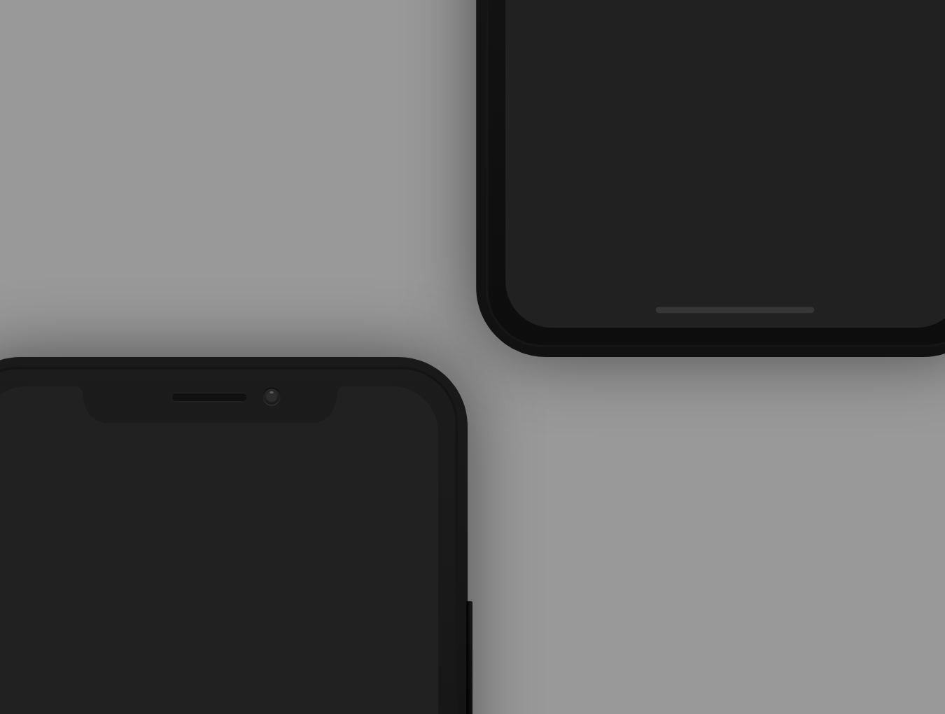iPhone X Mockups for XD - Freebie - UpLabs
