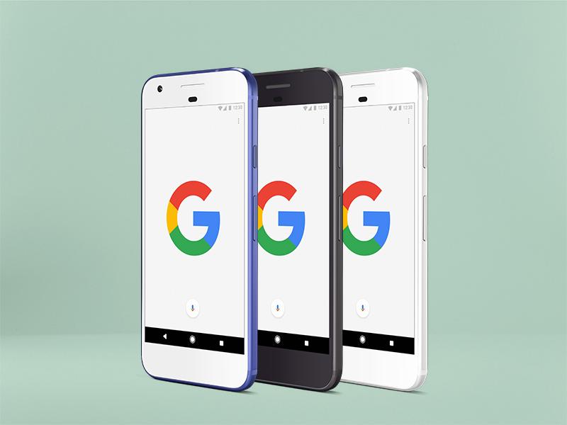 Google Pixel Psd Mockup Uplabs