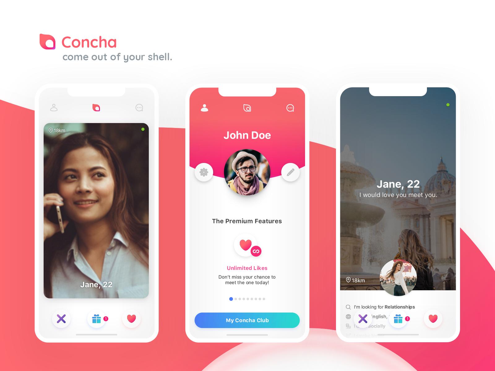 Premium dating app