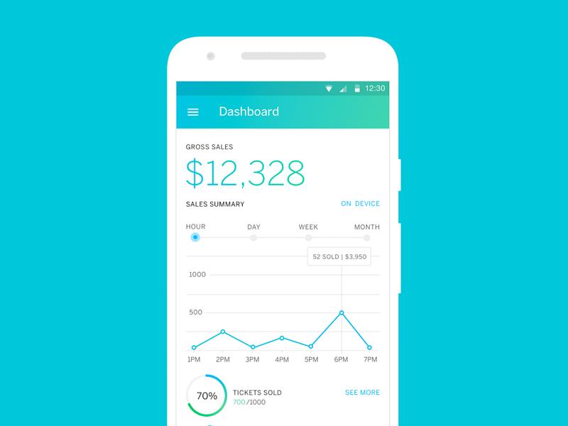 Eventbrite Organizer App Uplabs