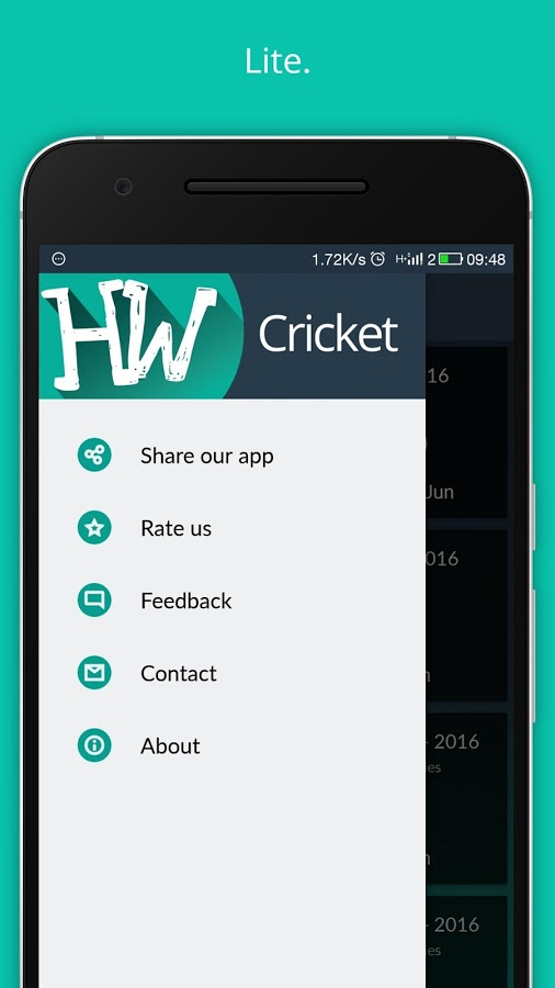 HW Cricket Android App - UpLabs