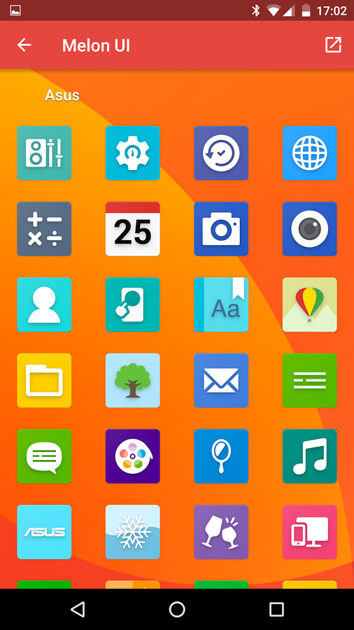 Melon Ui Icon Pack Android App Uplabs