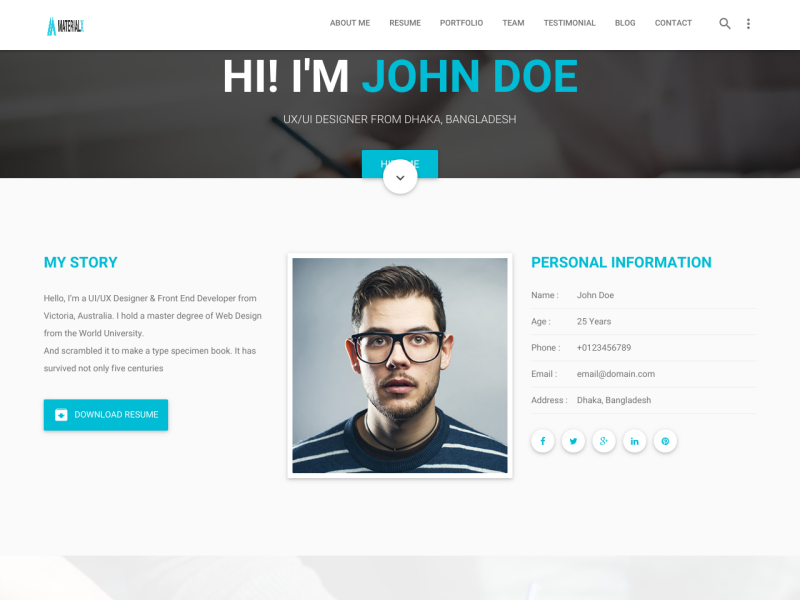 personal website resume examples - Personal Website Resume Examples