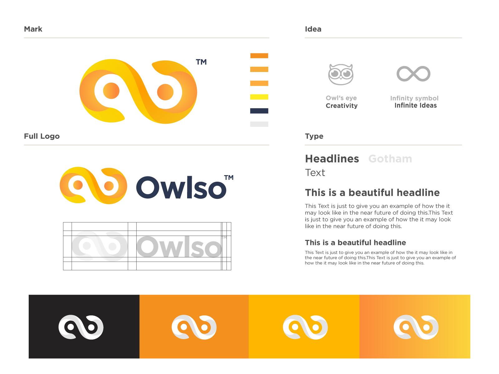 Owlso Creative Studio Logo Design Search By Muzli