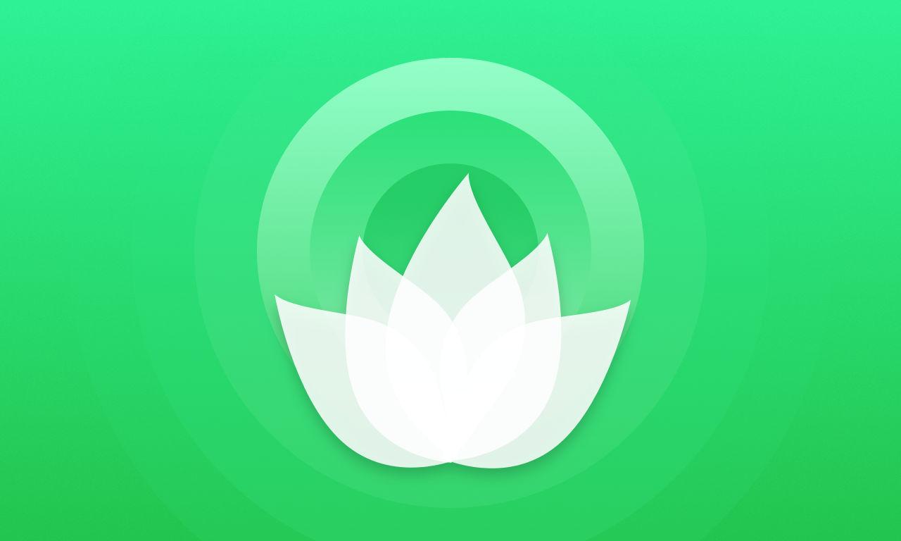 Relax Waves Radio Apple TV App Icon - UpLabs